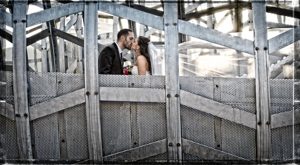professional wedding on docklands