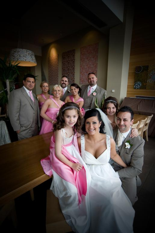 new family enjoining wedding photography photography